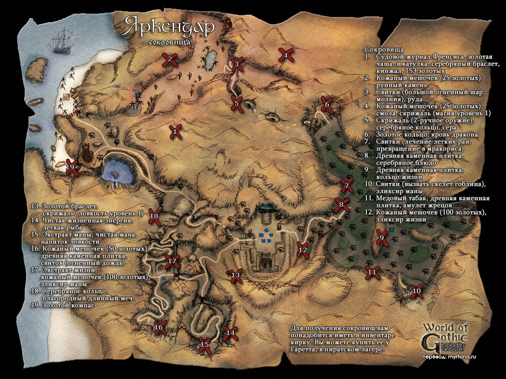 Готика 2 - FAQ по Готике 2 и аддону Ночь Ворона | World of Players RU