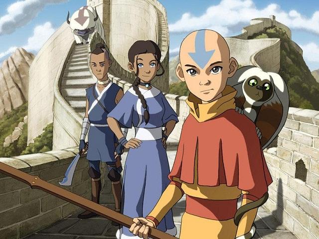 картинка аватар легенда об аанге