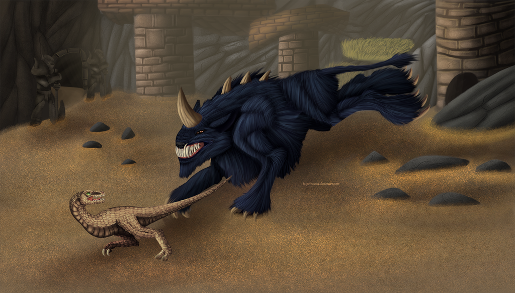 shadowbeast_and_snapper_by_noxsha-d9mzbce.png